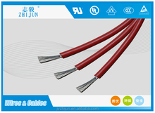 silicone rubber coated insulated electronic wire 14awg 2.08for high temperature places and appliance