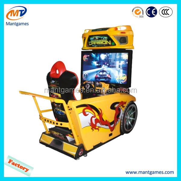 Coin Operated Simulator Arcade Car Racing Game Machine Driving ...