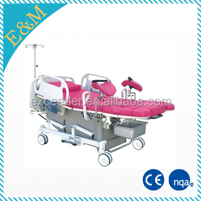hospital standard electric LDR bed, labor and delivery beds, maternity delivery bed