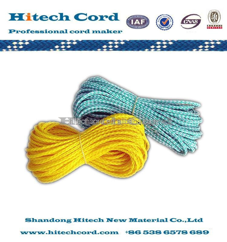 1/4 inch PE material hollow Braided Water Ski rope manufacturers