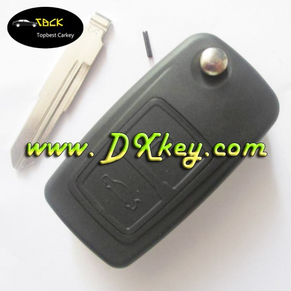Topbest 2 buttons plastic car remote key fob for Chery Tiggo with 315 mhz frequencies