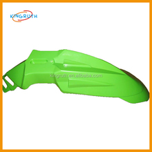 Green fender mudguard for dirt pit bike off road motocross fender guitar parts