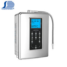 Multifunction water dispenser electrolysis ionizing water filter alkaline system custom brands of alkaline water