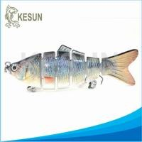 "4 joints swimbait trout Kesun lure CH4J04F 6.5"" 97g"