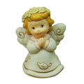 Resin wreath little angel figurine with angel wing
