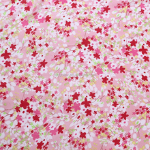 Wholesale 75D Polyester digital print fabric Flower Digital Print for lady tops