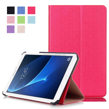 Full protective for Samsung Tablet PC 7.0 inch case, leather case for Samsung Tab T285