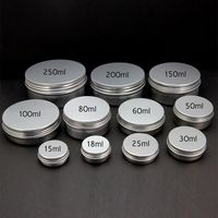 Aluminum Tin Jar With Lid
