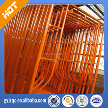 Construction metal kwikstage scaffolding/ Quick stage scaffolding system for support building/ metal scaffolding