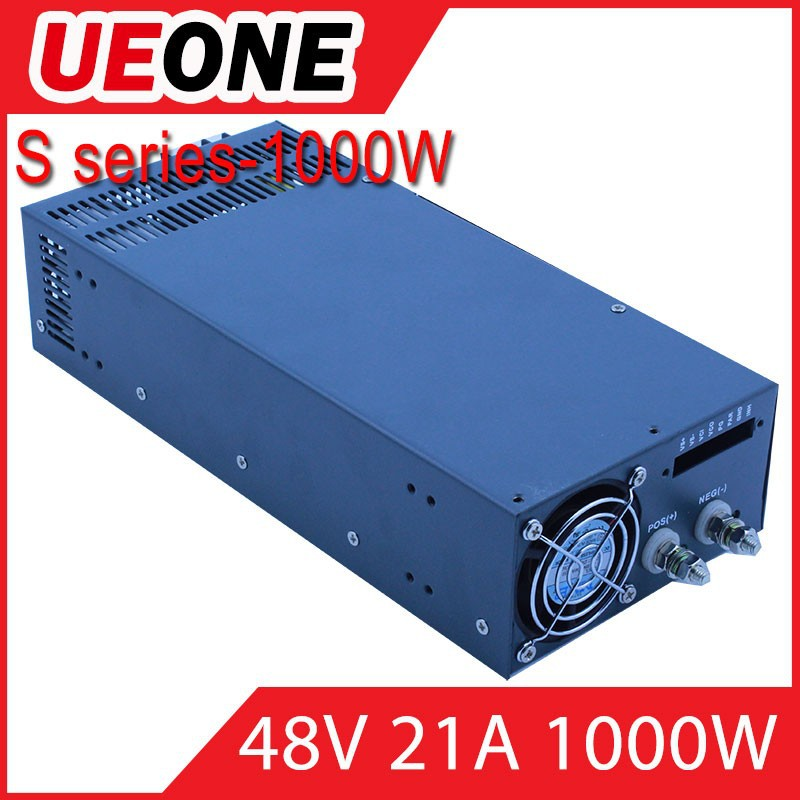 High vual 1000w 48v dc switching power supply