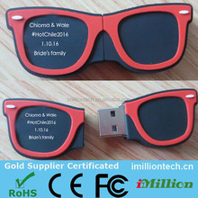 2016 iMillion 8gb usb sunglass with logo