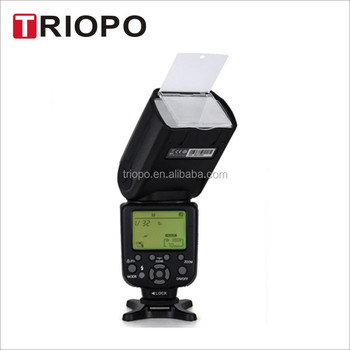 TRIOPO TR988II Professional Speedlite TTL Camera Flash with *High Speed Sync* for Digital SLR Cameras