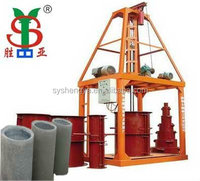 Sy1000 Concrete/Cement Drain Pipe Making Machine,Drain Tube Making Machine