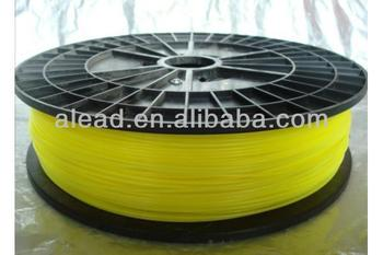 Yellow Color 1.75mm PVA Water Soluble 3D Printer Filament