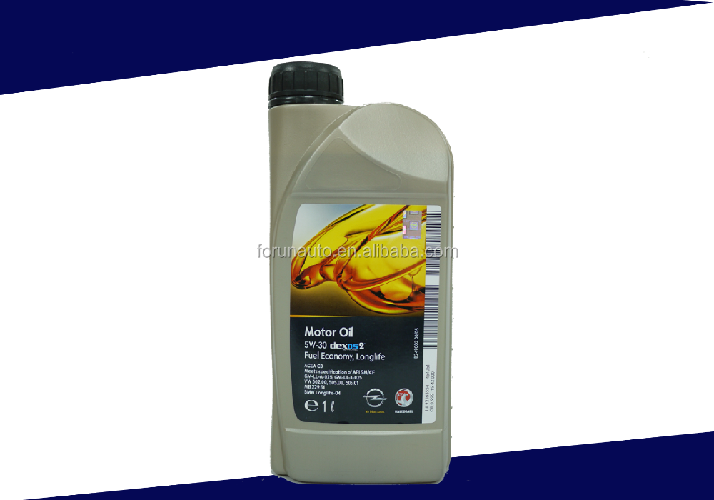 GM 5W30 C3 gasoline and diesel vehicles Long-acting motor oil