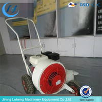 High performance asphalt and concrete road blower
