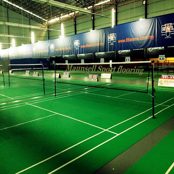 Vinyls Sports Surface for Badminton court Sports Flooring/Mats