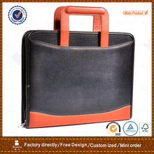 new design leather portfolio computer briefcase bags for men with great price