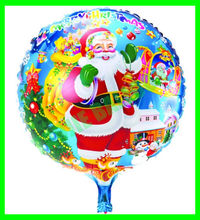 18 inches santa balloon,foil ballon