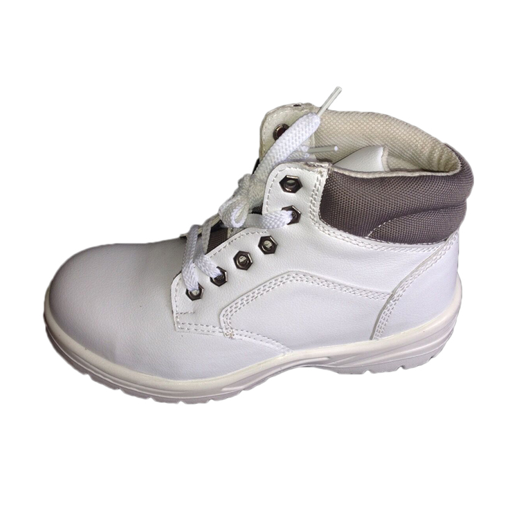 b7edd95f04b Wholesale White anti-static Industrial Safety Shoes with lace