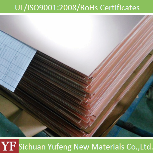 factory sale 1.0mm fr4 copper clad laminated sheet with good property