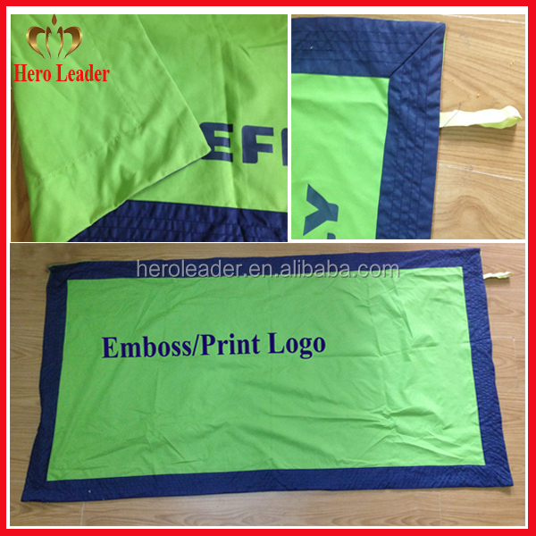 Eco-friendly microfiber double sided beach towel with towel bag