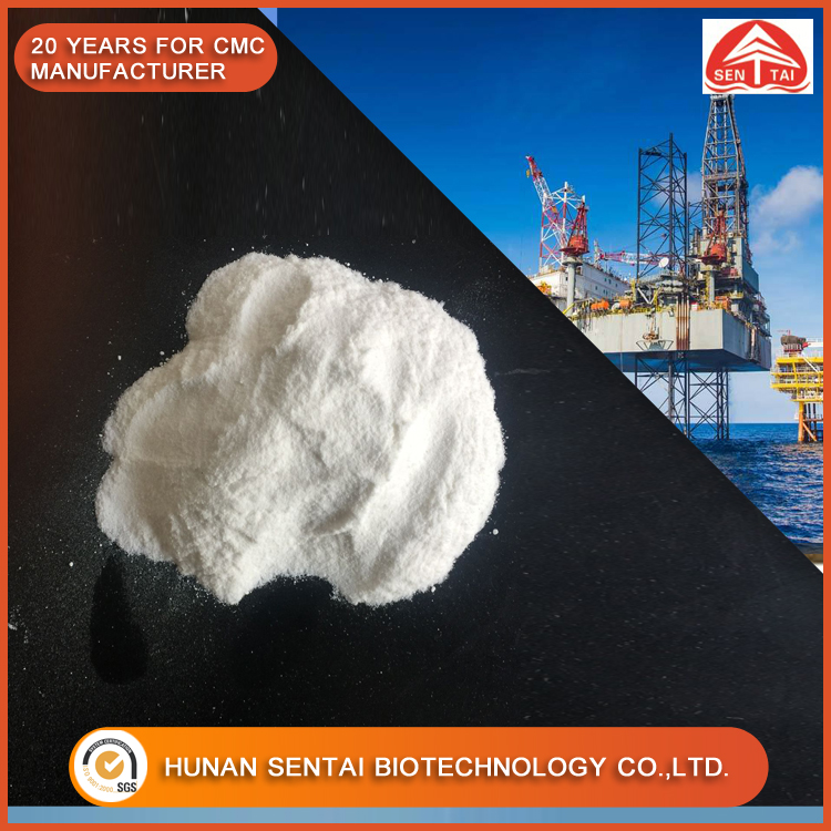 ISO Factory Supply Sodium Alginate Oil Drilling Offshore Grade CMC