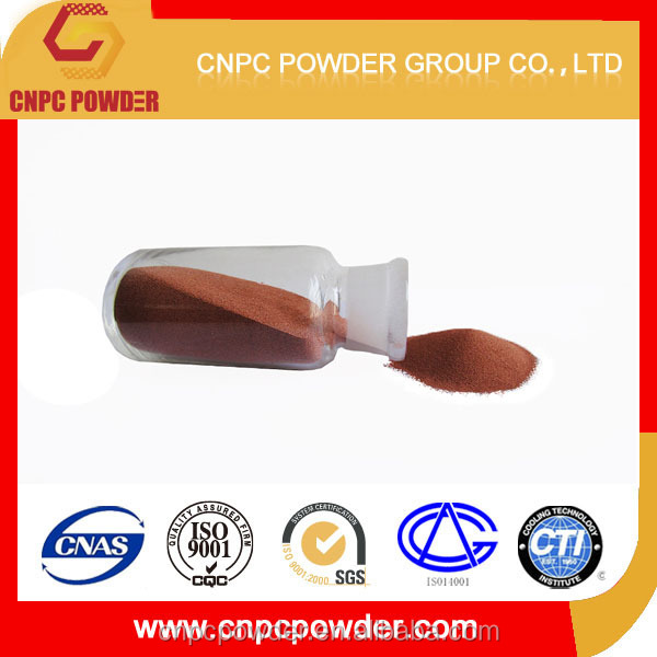Pure copper powder use for electrical carbon products