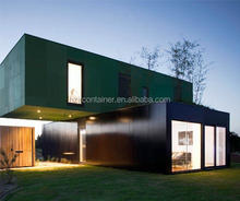 Japanese Luxury Wall Cladding Prefab Container House Design