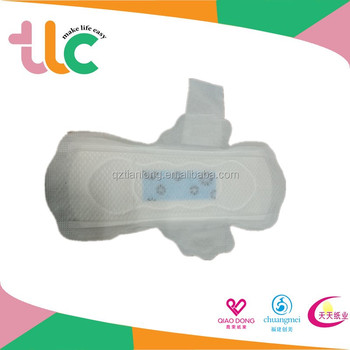 Direct Manufacturer Women Sanitary Napkins for Night Use