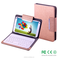 8 Inch OTG tablet bag with integrated keyboard--HUNGARY keyboard version