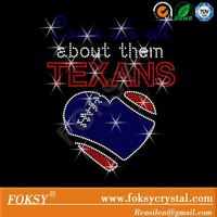 Rhinestone Transfer All About Them TEXANS