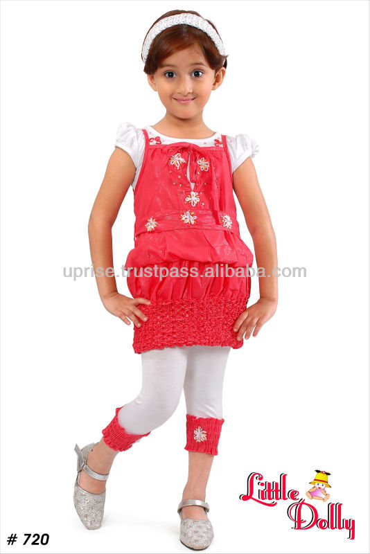 Children's Clothing Sets Leggy & Frock