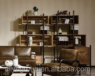 F-SG-1 Office bookcase furniture design wooden bookshelf wall bookshelf designs