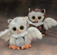 Cute plush stuffed toy love birds stuffed plush bird toys white plush owl