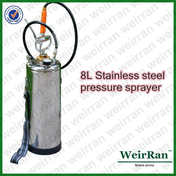 (9625)8L perssure stainless steel food grade sprayer