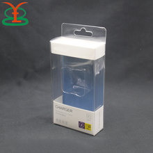 Transparent PVC Clear Plastic Packing Box For Phone Case