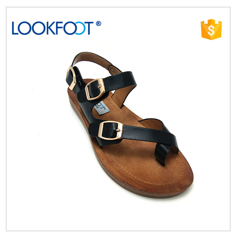 2017 Roman style girls fashionable sandals shoes women ladies
