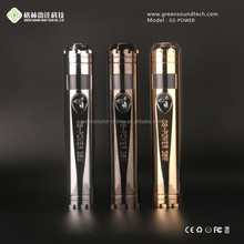 new business ideas europe gs ego E-cig gs ego 2 battery tank GS Power 35w mod with low battery alarm