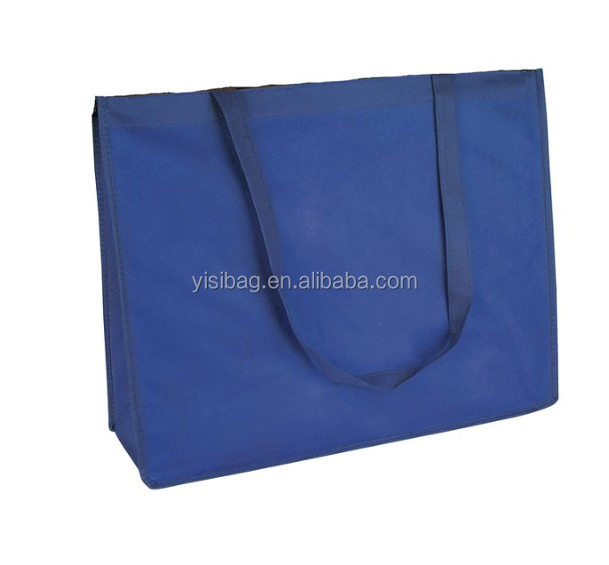 Extra Large Reuseable Eco-Friendly Recycled Non Woven Shopping Grocery Tote Bag