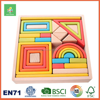 Wooden educational toys for kids,building blocks toys,Rainbow building blocks