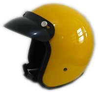 Yellow Motorcycle Helmet For Decoration Top Quality