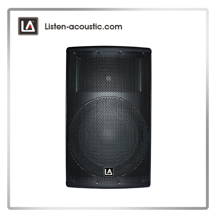 15 inch Portable Active Audio Plastic Speaker PA-15A