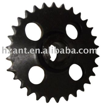 specification standard chain sprocket with hardening teeth