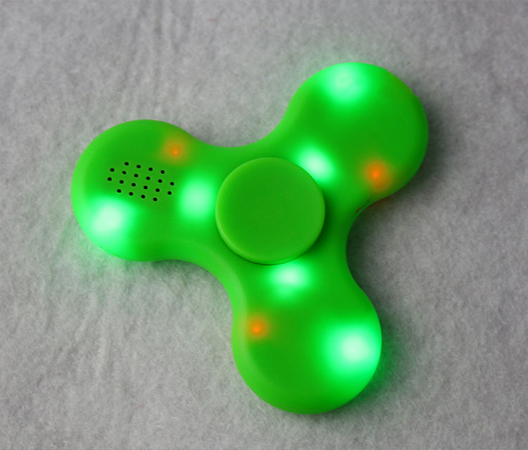 IN STOCK hand spinners with led