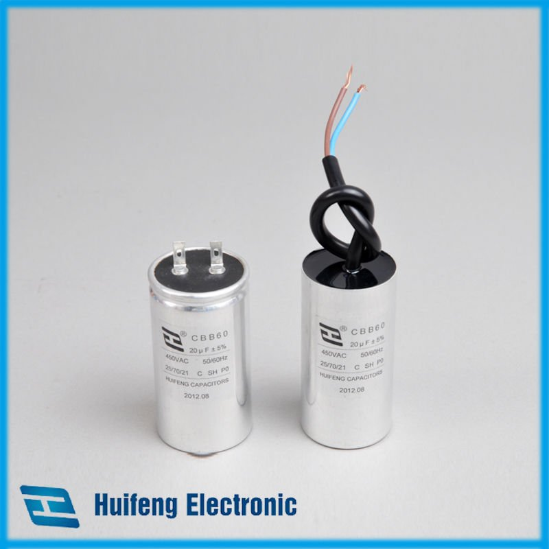 CBB60 metal shell series capacitor