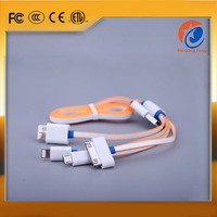Durable TPE colorful usb fast data charging cable