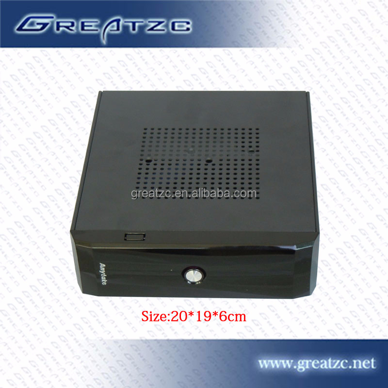 ZC-M35L effective Mini PC Intel Atom D525 CPU,fan/fanless pc With 4*LAN,2*USB 1*Console Port,1*VGA mini industrial computer