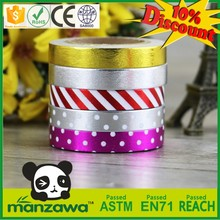 China Alibaba prague washi tape japanse tape permanent bonding furniture decorate strips acrylic tape