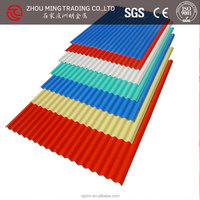 color coated metal roof shingle/ coated decorative metal roof tile price